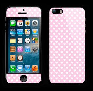 Cute hearts Skin IPhone 5s
