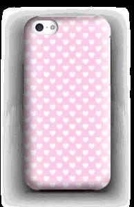 Cute hearts case IPhone 5c