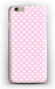 Cute hearts case IPhone 6