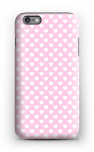Cute hearts case IPhone 6s Plus tough