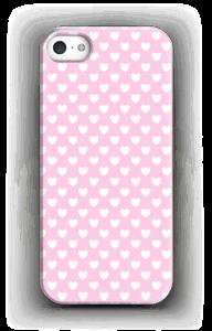 Cute hearts case IPhone SE