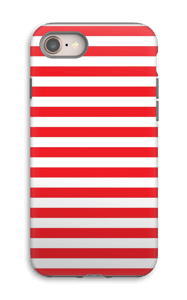 Christmas Stripes! case IPhone 8 tough
