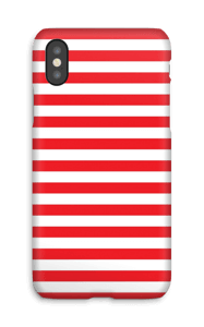 Christmas Stripes! case IPhone X