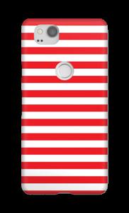 Christmas Stripes! case Pixel 2