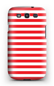 Christmas Stripes! case Galaxy S3