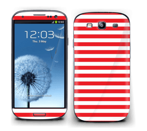 Christmas Stripes! Skin Galaxy S3