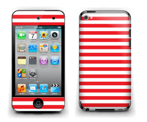 Christmas Stripes! Skin IPod Touch 4th Gen
