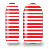 Christmas Stripes! nail