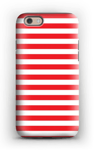 Christmas Stripes! case IPhone 6 tough