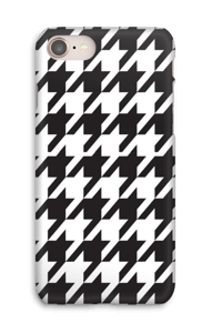 Houndstooth Capa IPhone 8