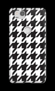 Houndstooth Capa Pixel 2