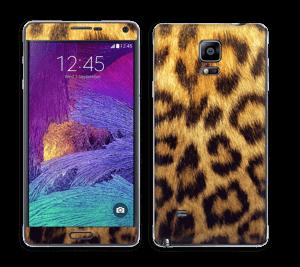 Leopard mønster Skin Galaxy Note 4