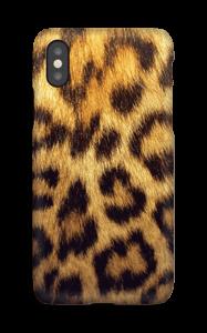 Leopardmönster på ett skal till iPhone eller Samsung