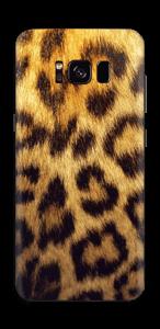 Leopardmönster Skin Galaxy S8