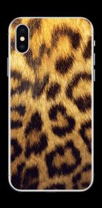 Leopard mønster Skin IPhone XS
