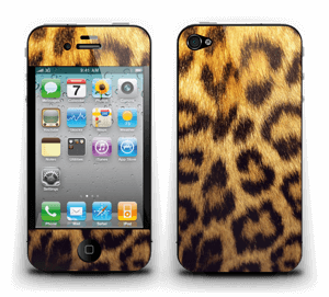 Leoparden Muster Skin IPhone 4/4s