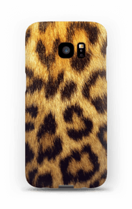 Leopard kuoret Galaxy S7 Edge