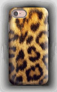 Leopard Pattern deksel IPhone 7 tough