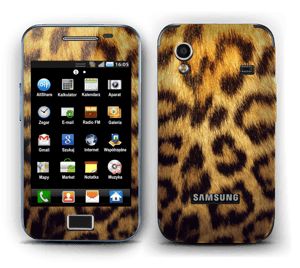 Leopard Pattern Skin Galaxy Ace