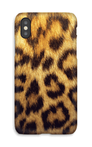 Leopard Pattern deksel IPhone X