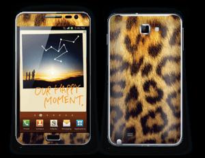 Leopard Pattern Skin Galaxy Note