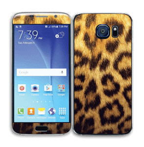 Leopard Pattern Skin Galaxy S6