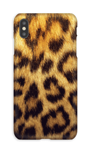 Leopard Pattern deksel IPhone XS Max