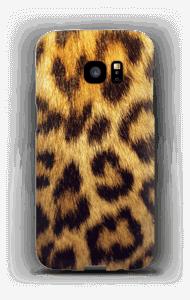 Leopard Pattern deksel Galaxy S7 Edge