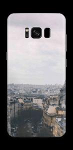 Straßen von Paris Skin Galaxy S8
