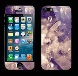 水晶 スキンシール IPhone 5s