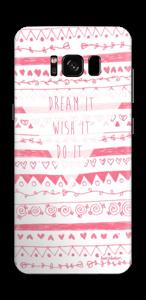 Dream it, wish it, do it Skin Galaxy S8