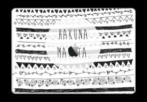 "Hakuna Matata tarrakuori MacBook Pro 15"" 2016-"