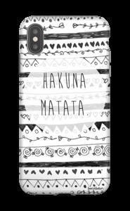 Hakuna Matata kuoret IPhone XS Max tough