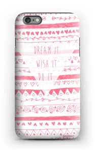 Unelmoi ja toteuta kuoret IPhone 6s Plus tough