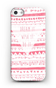Unelmoi ja toteuta kuoret IPhone SE