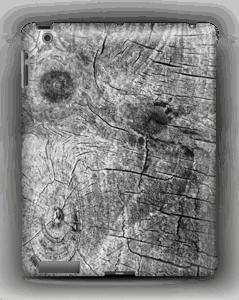 Træ cover IPad 4/3/2