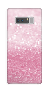 Lyserøde diamanter cover Galaxy Note8