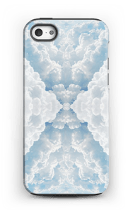 Molndesign på ett skal för iPhone eller Samsung