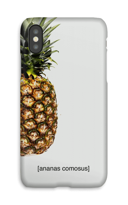 ananas comosus  case IPhone X 383b78d8e286c