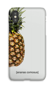 [ananas comosus]  case IPhone X