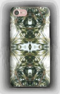 Design med palmer på ett skal till iPhone eller samsung