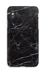 Black marble case IPhone X
