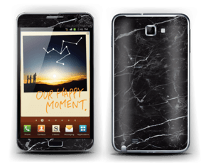 Black marble Skin Galaxy Note