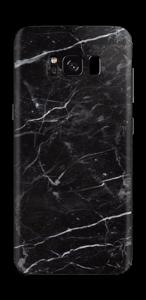 Black marble Skin Galaxy S8
