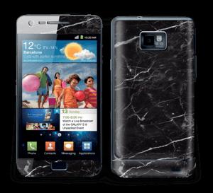 Black marble Skin Galaxy S2
