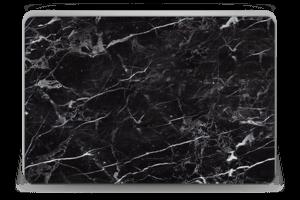 Black marble Skin Laptop 15.6