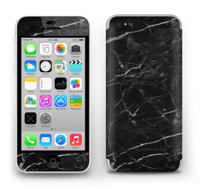 Black marble Skin IPhone 5c
