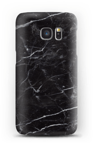 Black marble case Galaxy S7