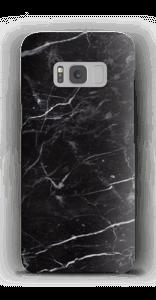 黒マーブル ケース Galaxy S8