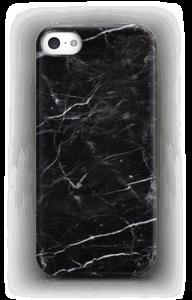 Svart Marmor deksel IPhone 5/5S